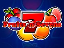 Виртуальный слот Fruits And Sevens – играть за деньги в казино GMSlots