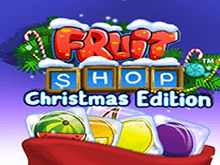 Автомат Fruit Shop Christmas Edition на зеркале казино GMSlots